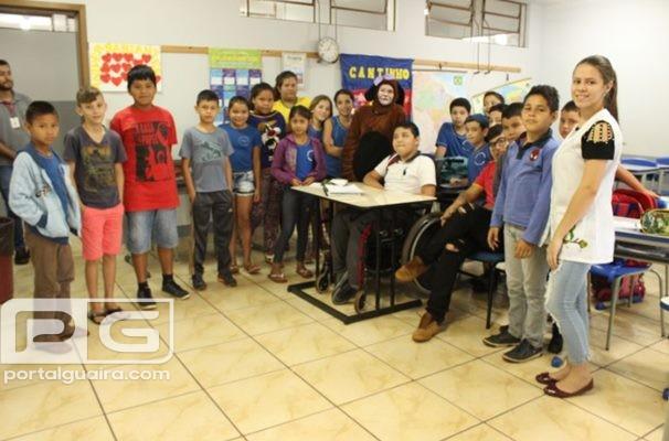 Guaíra - Mais de 3.500 crianças tiveram acesso a palestra sobre Cuidados com Animais em 2018