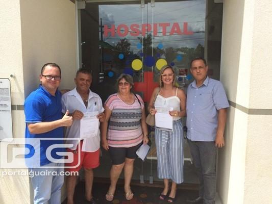 Boa ação - Direção do ASSISTEGUAÍRA repassa premiação de bingo beneficente