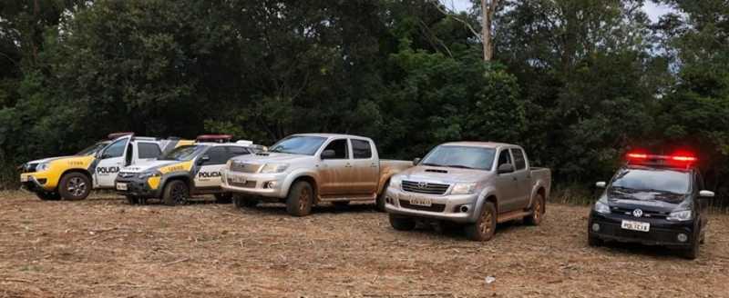 Terra Roxa - PM recupera três veículos e bandido morre em troca de tiros