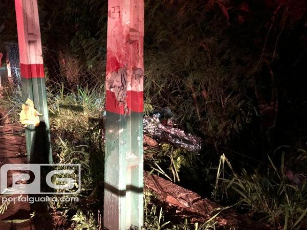 Marechal - Guairense de 19 anos morre em acidente com moto