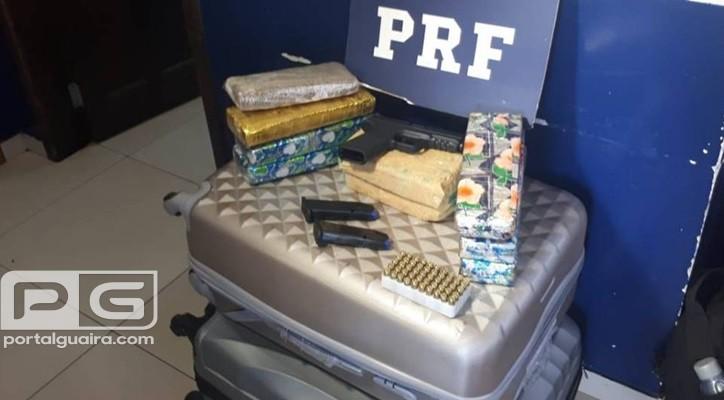 STI - Uruguaio foragido é preso com armas, munições e drogas